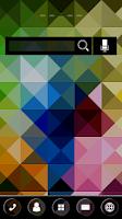 Screenshot of kaleidscope Theme