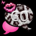 GO SMS THEME/PnkWhtLeopard icon