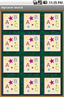 Screenshot of Alphabet Match