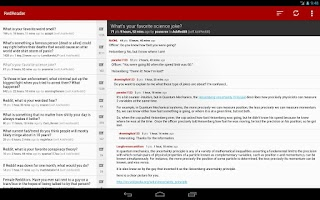 Screenshot of RedReader Beta