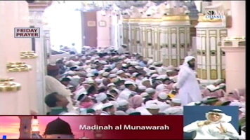 Screenshot of Live Muslim TV