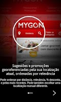 Screenshot of MYGON – Real Last Minute Deals