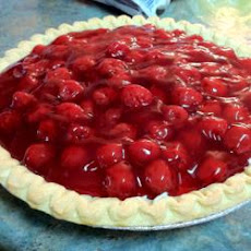 Cherry Cheese Pie I