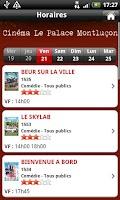 Screenshot of Cinéma Le Palace Montluçon