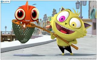 "Screenshot of ""톰과 제리""를 뛰어넘는 숙명의 라이벌 ""피쉬와 칩스"""