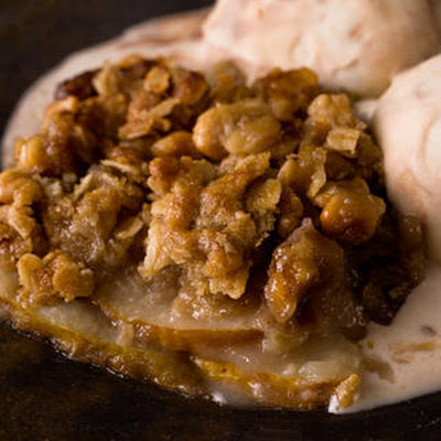 Gingered Pear Crisp