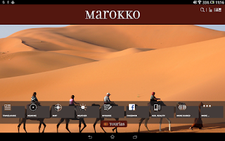 Screenshot of Morocco Travel Guide - Tourias