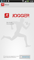 Screenshot of Jogger - running log