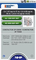 Screenshot of Contactor Select