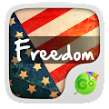 App USA Freedom GO Keyboard Theme APK for Kindle