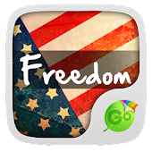 USA Freedom GO Keyboard Theme for Lollipop - Android 5.0