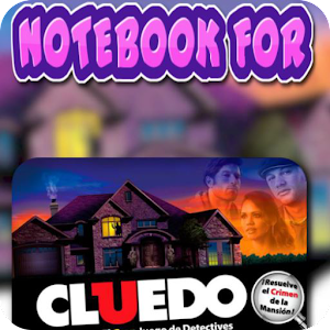 Notebook for Cluedo