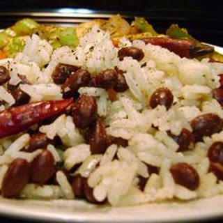 Coconut Rice with Black Beans