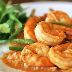 Spicy Garlic Shrimp with Coconut Rice