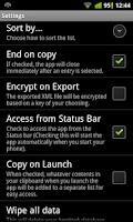 Screenshot of Textspansion