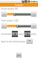 Screenshot of Advanced Metronome