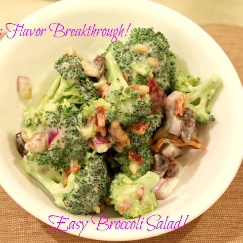 Easy Broccoli Salad!