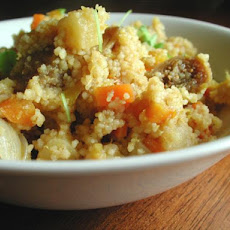 Moroccan Vegetables and Cous Cous