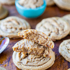 Soft Batch Dark Brown Sugar Coconut Oil Cookies
