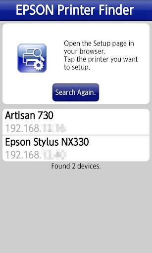 Epson Printer Finder