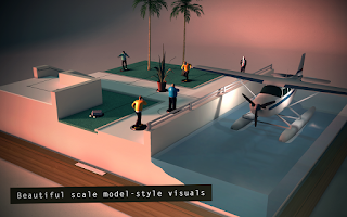 Screenshot of Hitman GO