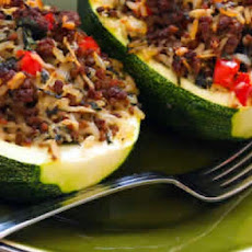 Easy Zucchini Stuffing Stuffed