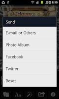 Screenshot of cloud bread - greeting card