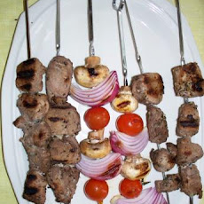 Kittencal's Greek Souvlaki (Grilled Skewered Lamb or Pork)