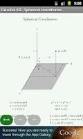 Screenshot of Math Cheat Sheets FREE