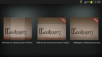 Screenshot of DCwallpaperZ