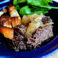 Beer-Braised Beef with Onions
