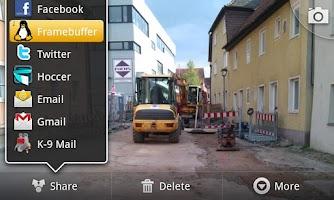 Screenshot of Send to Framebuffer