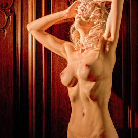 Body Pop Art by Porlus At Maelstrom - Nudes & Boudoir Artistic Nude ( blonde, arty, nude, beauty, shadows )