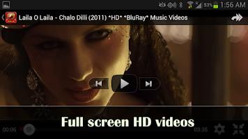 Screenshot of Hindi Music Videos & Top Songs