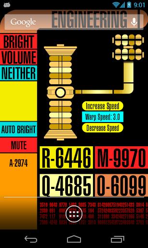 Star Trek Phone Live Wallpaper - screenshot