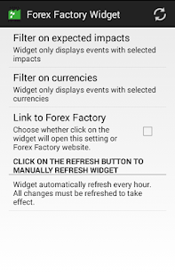 Forex news widget android