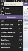 Screenshot of Smsmaza Funny Sms Collection
