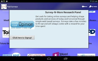 Screenshot of Survey-n-More - Paid Surveys