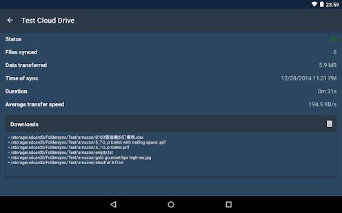 FolderSync – Miniaturansicht des Screenshots