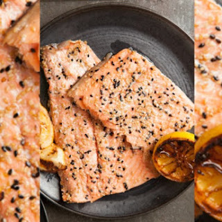 Honey Sesame Side of Salmon