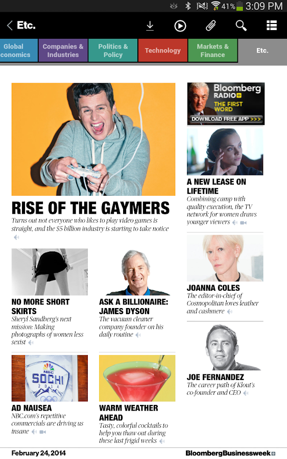 Bloomberg Businessweek+ Screenshot 12
