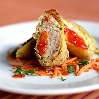 Minced Chicken and Pork Rolls (鸡卷)