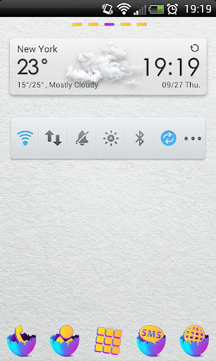 EGG IN Theme Go Launcher EX