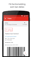 Screenshot of Posten Sporing