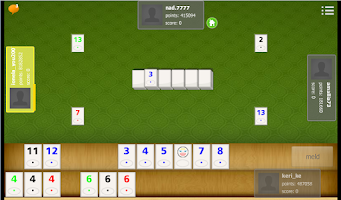 Screenshot of Stack Rummy Znappy