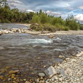 Horska rieka by Ján Hrmo - Nature Up Close Water ( skaly, rieka, voda )