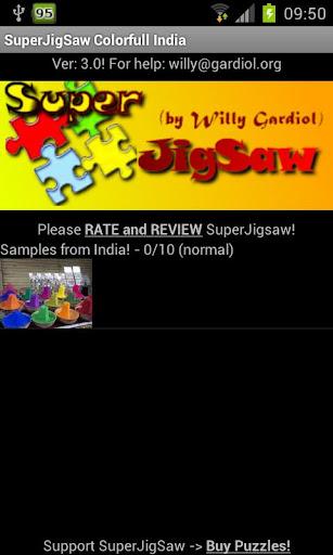 SuperJigsaw Colorfull India