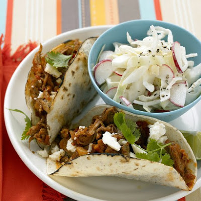 Shredded-Pork Tacos