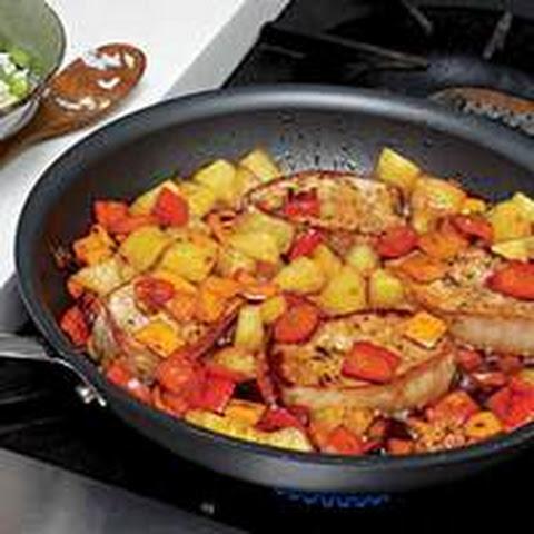pork chops pan seared pork chops seared pork chops bahama mama pork ...