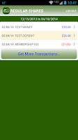 Screenshot of LEOCU Mobile Teller